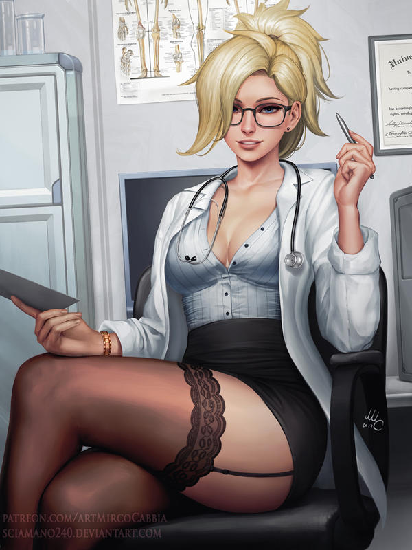 Doctor Mercy - OW (3v) by Sciamano240