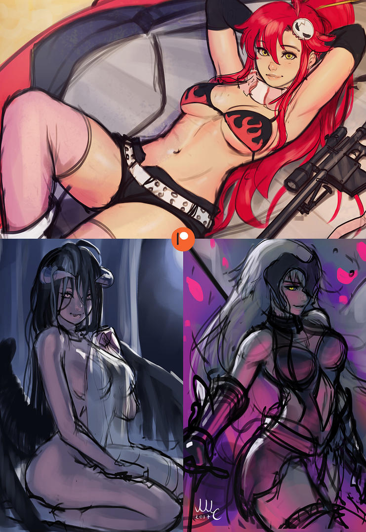 Patreon Preview - February by Sciamano240