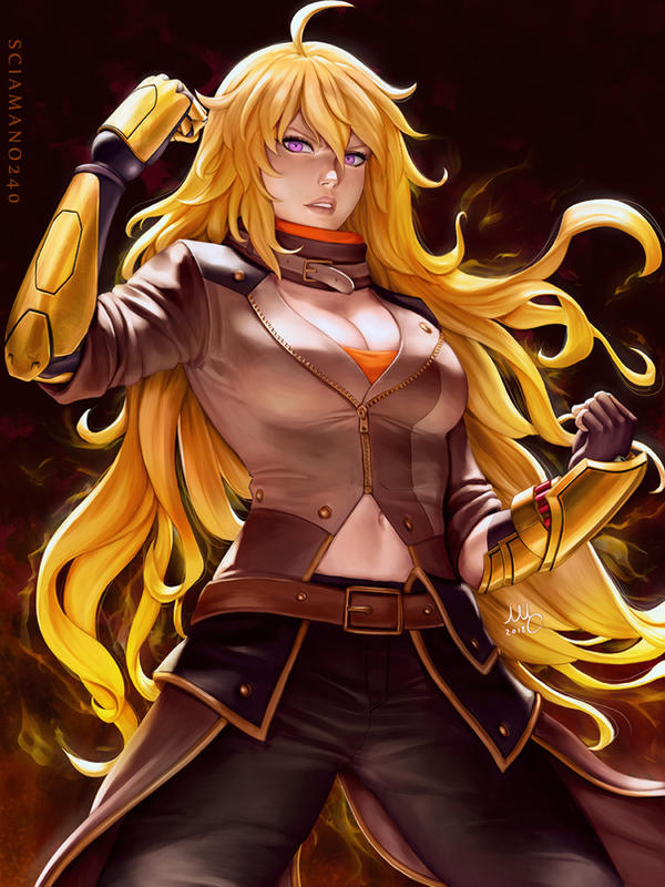Image result for RWBY Yang