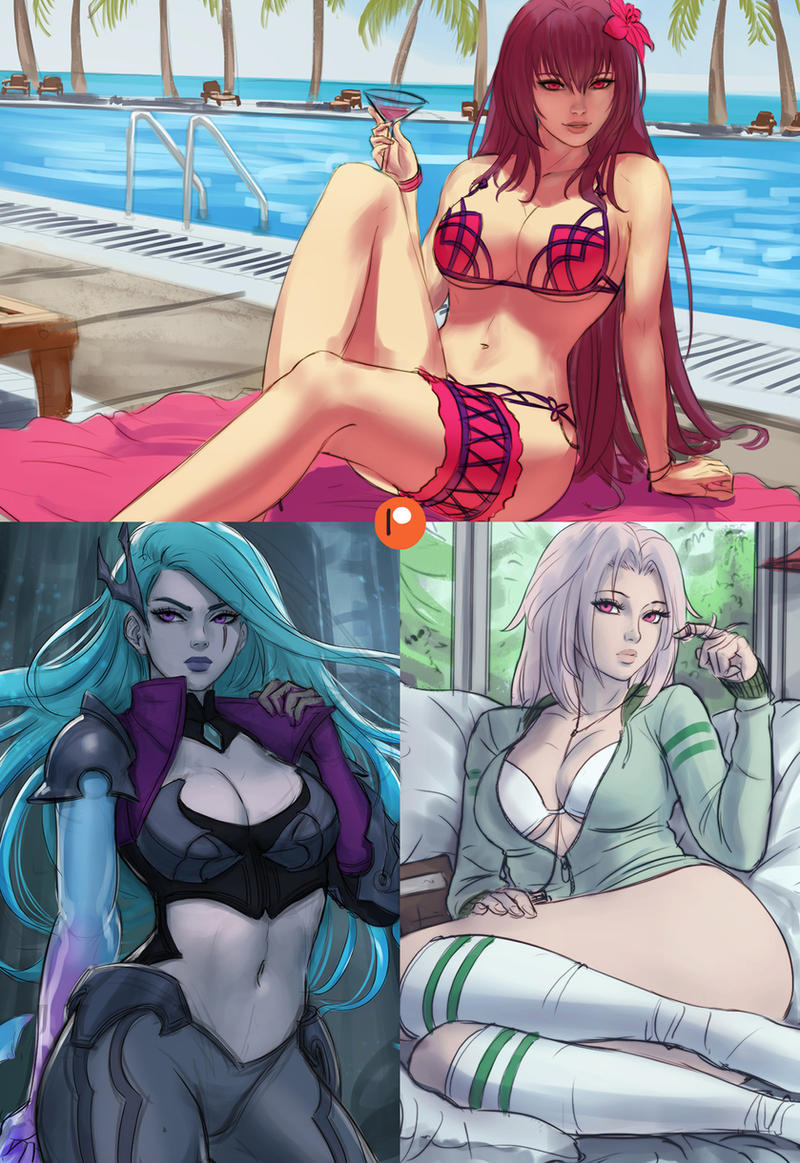 Patreon Preview - May by Sciamano240