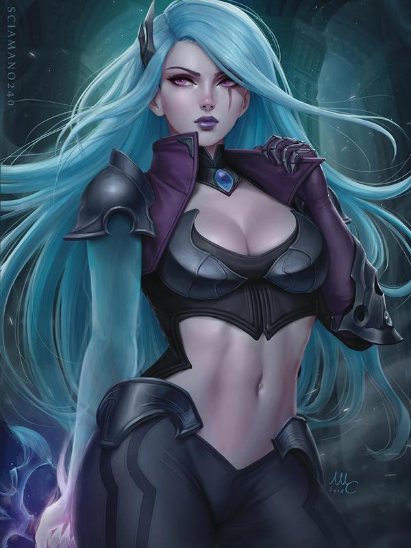 Katarina Death Sworn - League of Legends (2v) by Sciamano240