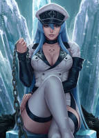 Esdeath - Akame ga Kill! (2v)