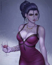 Widowmaker - OW by Sciamano240