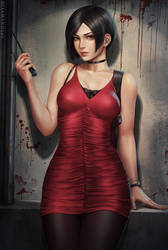 Ada Wong - RE2 (2v) by Sciamano240