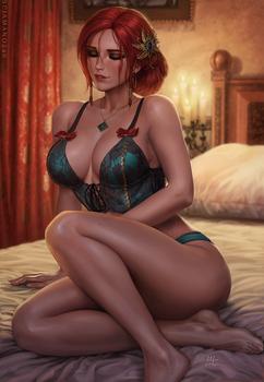 Triss Merigold - The Witcher 3 (2v)