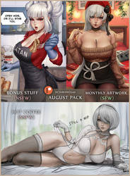 Next month - 20-08 Patreon Pack