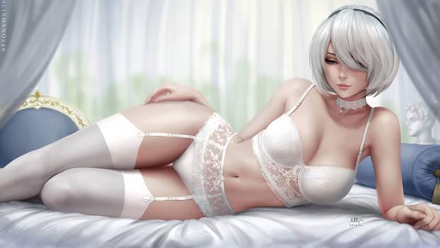 2b lingerie - Nier Automata (2v)