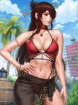Summer Beidou - Genshin Impact (2v)