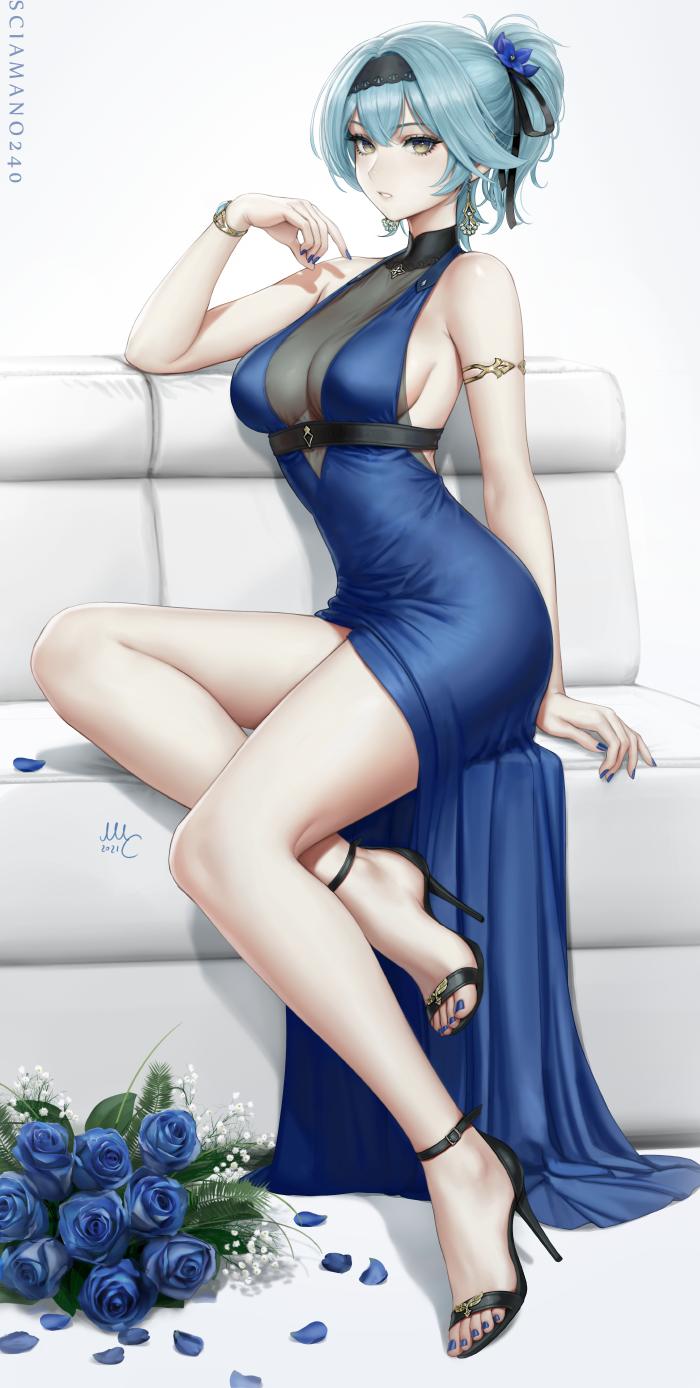 Eula dress - Genshin Impact
