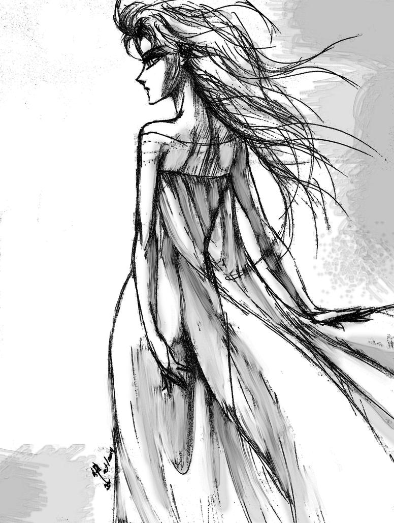 Regal Elsa by denebtenoh