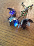 Wire Wrapped Flowers