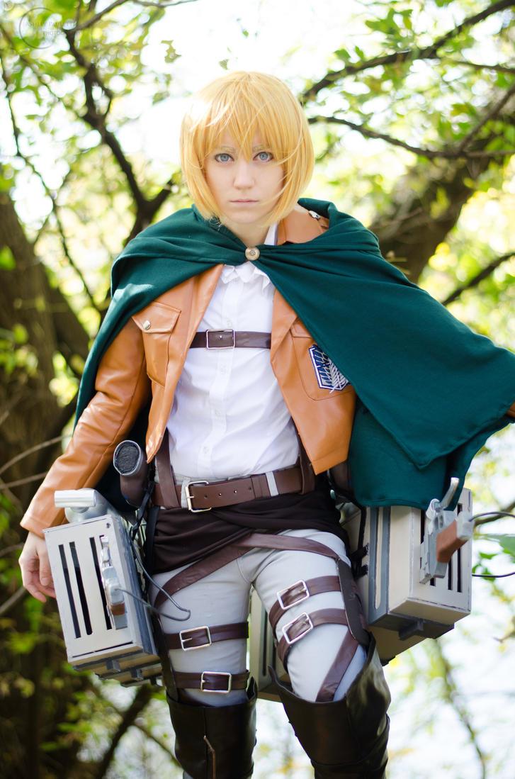 Armin Arlert - Shingeki No Kyojin by denni-cosplay