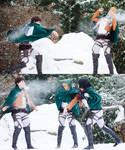 Snowball Fight - Shingeki No Kyojin