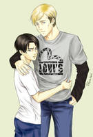 . Levi's . by UsagiNoYume