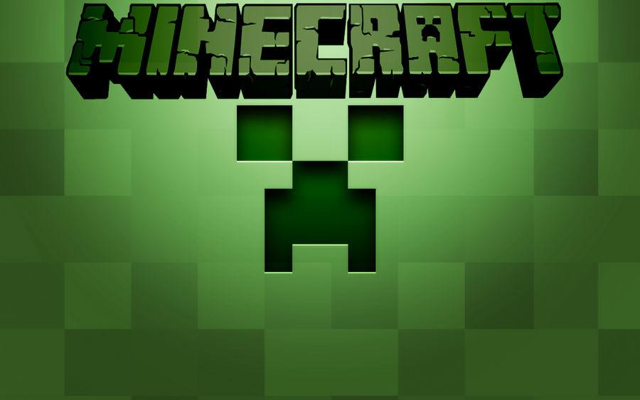 Minecraft Creeper Face Wallpaper By Bigbadwolf277 On Deviantart