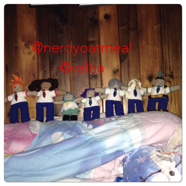 Seven Barian Students by emeraldgreenskyline