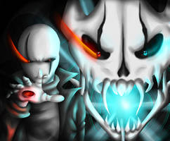 Meet your end .:Glitchtale Gaster:.