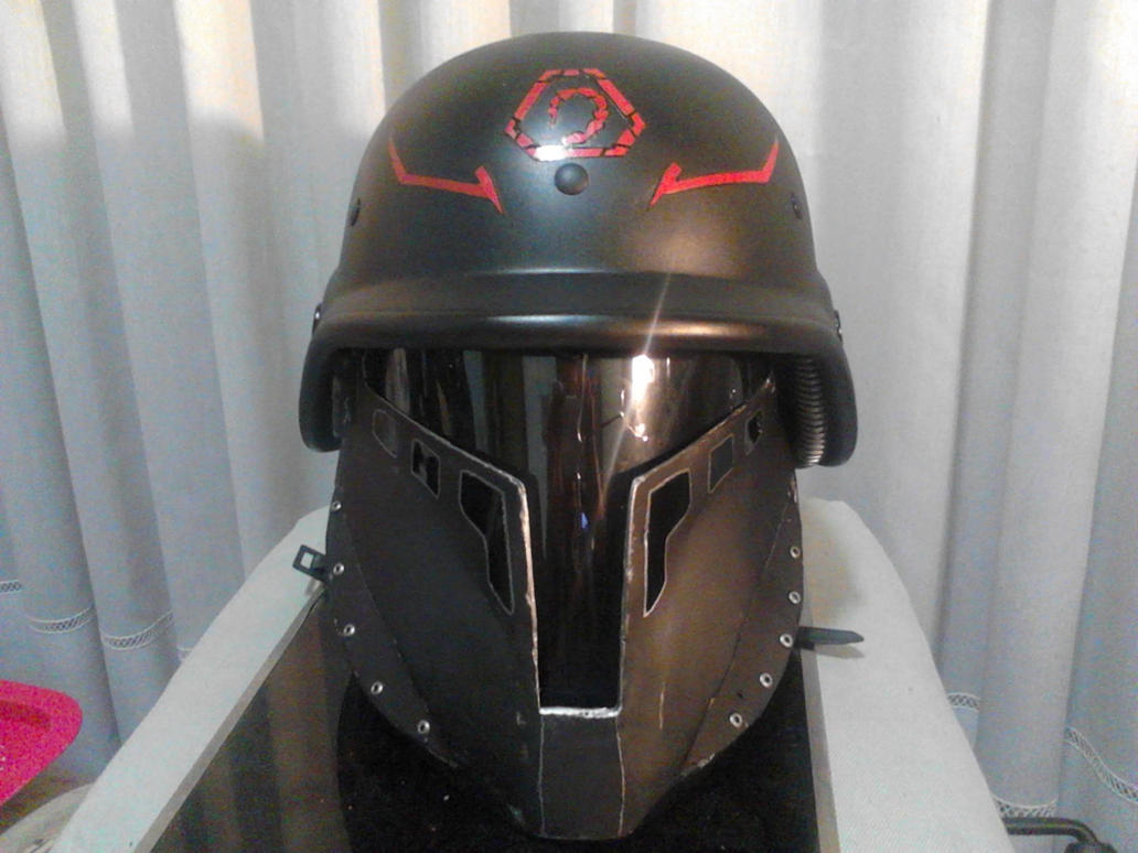 Brotherhood of Nod - Helmet Front by BioCloneX