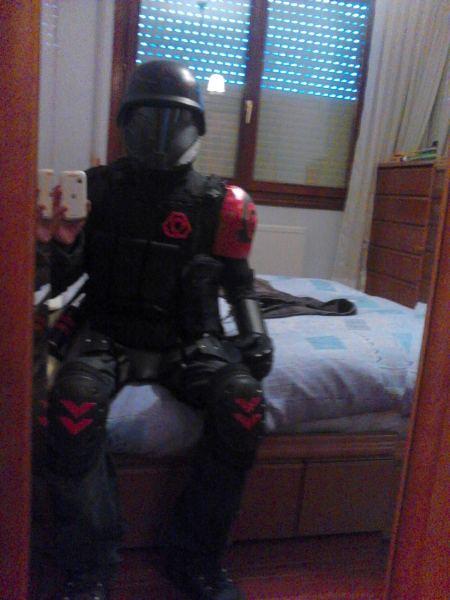 Brotherhood of Nod - Full Suit by BioCloneX