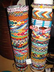 Friendship bracelets 2 by Lizknot