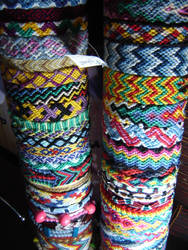 Friendship bracelets 3 by Lizknot
