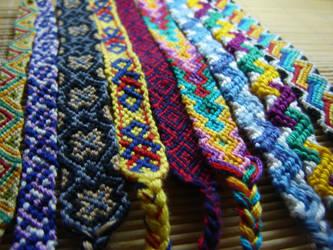 Friendship bracelets .... by Lizknot