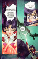Sailor Mars Colored Manga Page