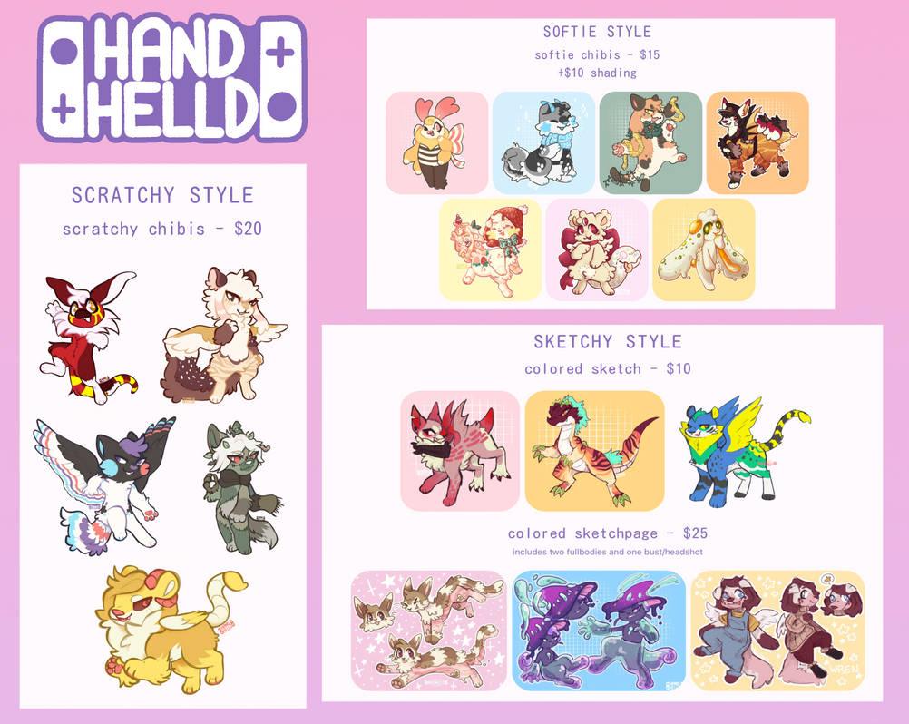 Handhelld commission hub - Reopened 1/5/21