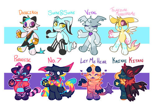 Collab Gatcha adopts - 5/8 OPEN - LOWERED