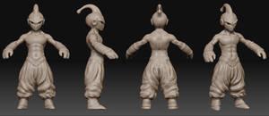 MajinBuu Hi res sculpt