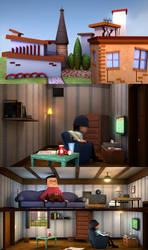 ROOM - 3D Animated short film