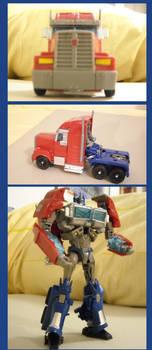 TFP Optimus 'rid' Action Figure