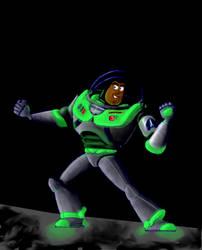 Buzz Glowing in the Dark