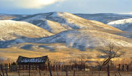 Low Light on Sheep Creek Hills