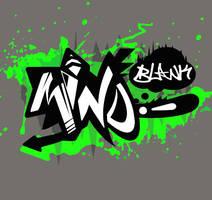 MinDBlank Graffiti symbol commision