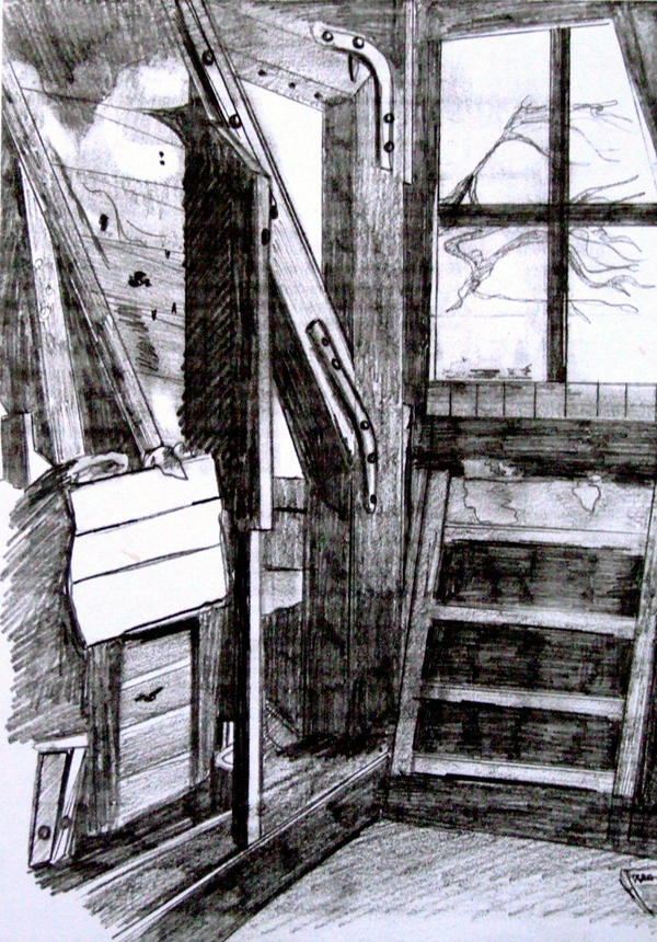 Anne Frank Attic Room by Helsy83 on DeviantArt