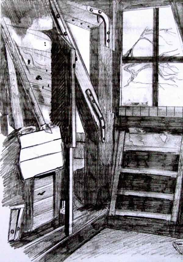 Anne Frank Attic Room by Helsy83 on DeviantArt