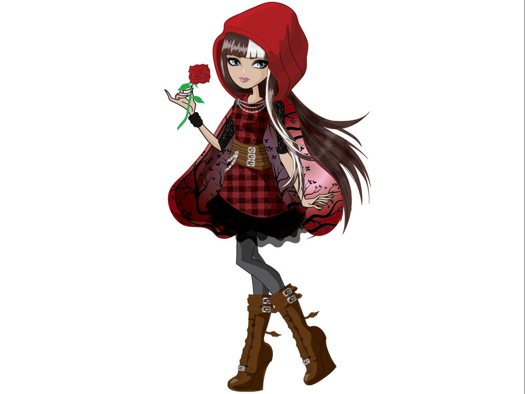 Cerise Hood from ever after high by AzZzAeLL on DeviantArt   Cerise Hood
