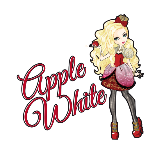 how to draw ever after high apple white