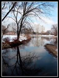 Urban Pond by Annetteks