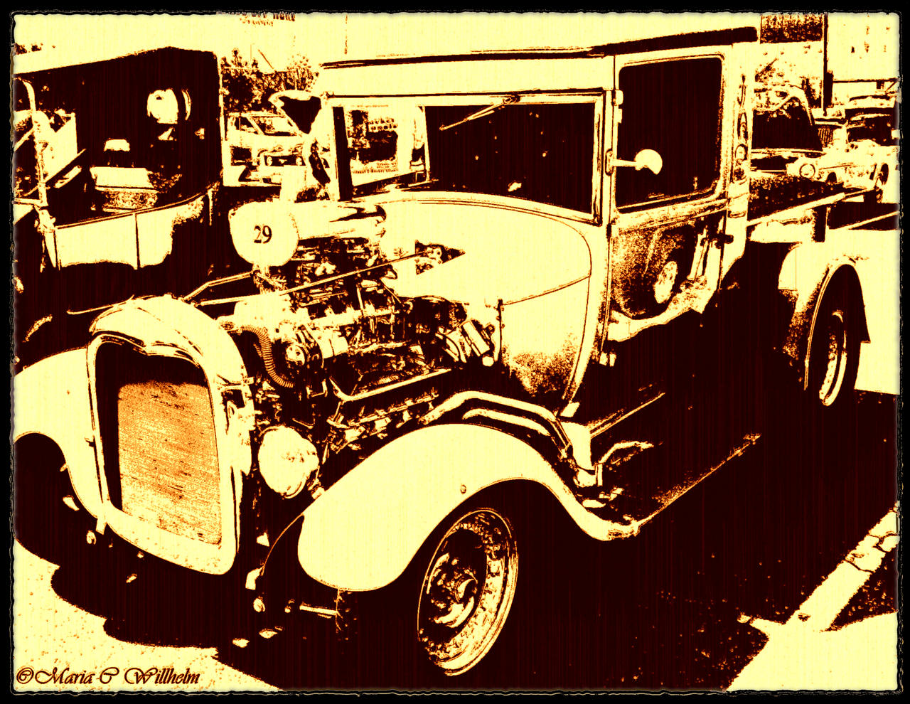 vintage hot rod wallpaper - photo #18