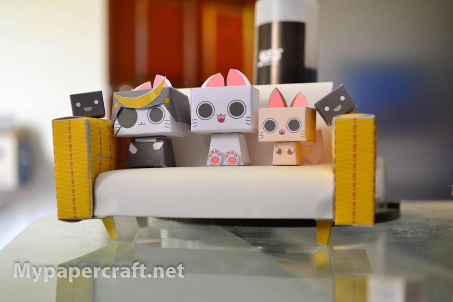 Nyanpire papercraft