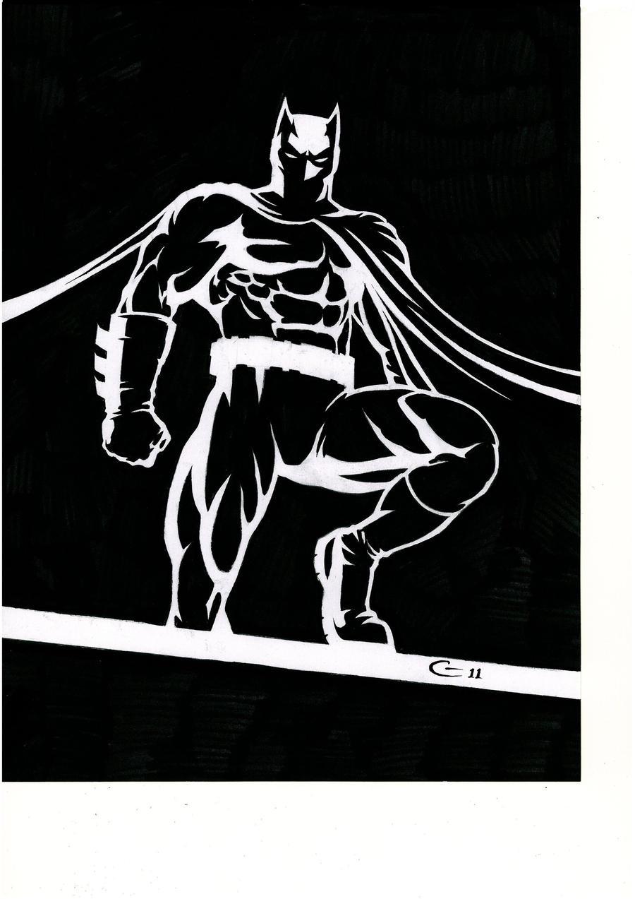 Batman. by BlackLabelArt