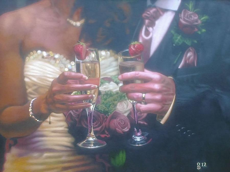 The Wedding. by BlackLabelArt