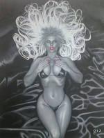 Lady Death. by BlackLabelArt