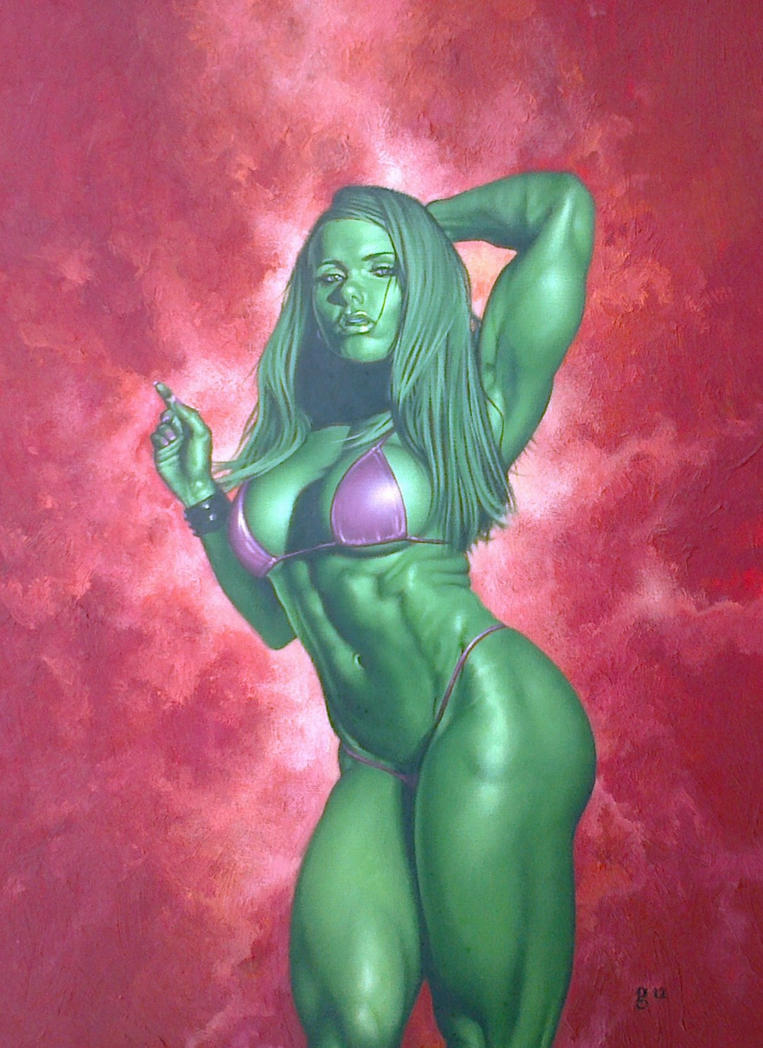 She-Hulk. by BlackLabelArt