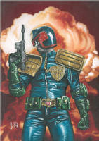 Judge Dredd Year One by BlackLabelArt