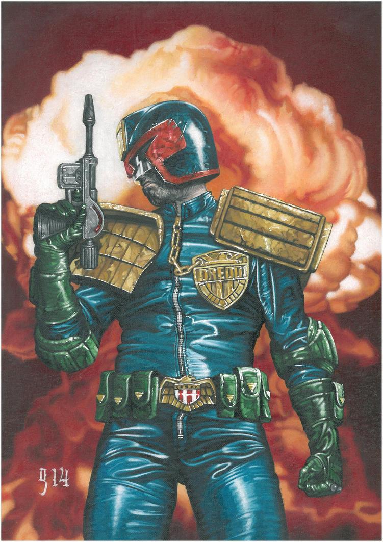 Judge Dredd Year One by BlackLabelArt