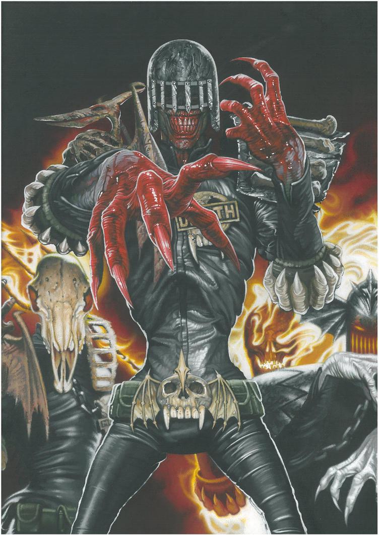 The Dark Judges I by BlackLabelArt