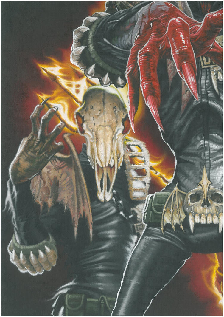 The Dark Judges II by BlackLabelArt